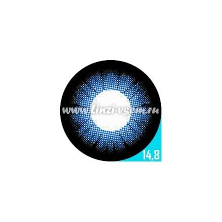 Цветные линзы EOS 204 Blue Фото 6